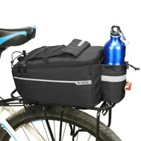 Bicycle MTB Bike Rear Seat Rack Storage Trunk Bag Pouch Cycling Handbag Pannier