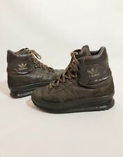 separation shoes ffe75 d011a Adidas Men s Vintage Brown Leather 80s Tactical Super Trekking Rare Hiking  Boots