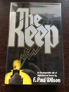 F. Paul Wilson THE KEEP Morrow 1981 HCDJ 1ST Ed SIGNED/inscribed Scarce MINT
