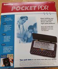 NIB Franklin Electronic Data  Pocket PDR MED-1770 Medical Book System New