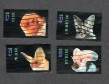 #3661-3664 American Bats, Used Set of 4, 37 cent, Off Paper