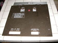 AKAI GX-255 REEL TO REEL FRONT AND BACK PLATES - SET OF 02 FOR BOTH FRONT AND BA