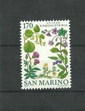 San Marino 1977 Herbalist's shop  MNH