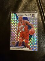2019-20 Mosaic Charles Barkley Silver Prizm Hall of Fame 76ers # 282