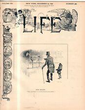1892 Life December 29 - Yale undergraduates fined $100 each;
