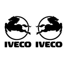 Sticker autocollant IVECO cheval pour les 2 cotés gauche et droit