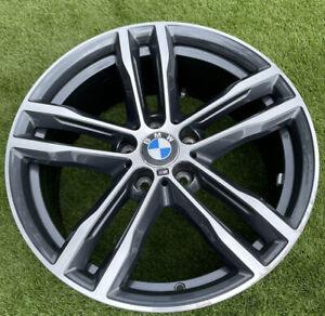 "1 X Genuine BMW F30 3 Series M double spoke 704 Wheel 8.0 x 19"" Front 8043650 OE"