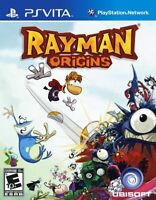 Rayman Origins (Sony PlayStation PS Vita, 2012) Brand New