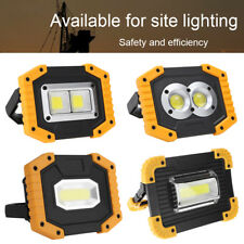 USB Rechargeable COB LED Work Inspection Light Waterproof Outdoor Emergency Lamp