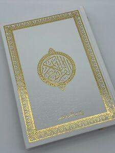 Quran Weiß - Arabisch Hafs 14cm x 20cm Koran Kuran Kerim Mushaf