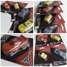 4er Set Disney Cars 3 Eraser Auto Figur / Lightning/Cruz/ Luigi/Jackson Storm