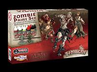 The Army Painter Warpaints Zombicide Core Black Plague Paint Set - Free P&P