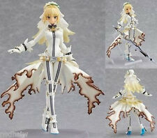 Fate Stay Night Saber Lily Nero Wedding Dress Figma Action PVC Figure With Box
