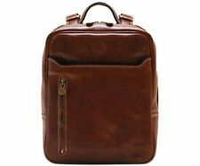 Cenzo Italian Leather Backpack Knapsack