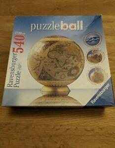 Ravensburger Puzzleball - Historic World Map Globe (540 pieces) No 110728