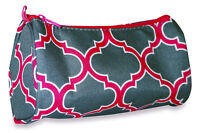 Moroccan Women Makeup Bag Zipper Cosmetic Purse Lady Small Organizer Pouch Pink