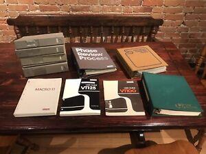 DEC VT100 VT125 Manuals + Other DEC Literature + On-Line Systems Documentation