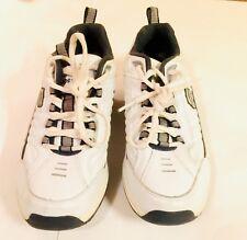 Skechers Mens Shape Ups White Walking Sneakers Sz 9 Shoe