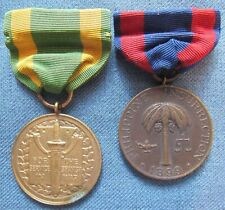 Numbered Army Spanish War Service & Philippine Campaign Medals to same soldier