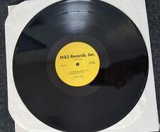 "12"": Various - Untitled - M&S Records Inc.  rare classic disco re-edit remix 12"""