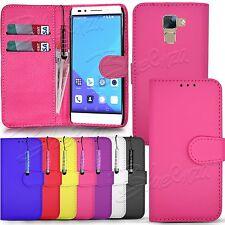 Wallet Leather Case Flip Cover For Huawei Y550 Y300 P6 G620S Y330 Y530 Y635 5X Y