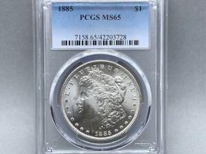 1885-P PCGS MS 65 Morgan Silver Dollar! Original! Great Strike and Luster! FRESH