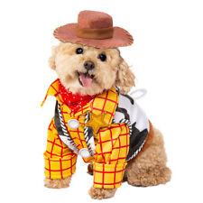 Rubie's Disney Toy Story Woody Pet Costume Cowboy Dog Cat SM-XL