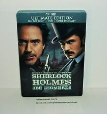 DVD VIDEO BLU-RAY ULTIMATE EDITION SHERLOCK HOLMES JEU D'OMBRES