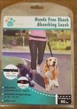 HANDS FREE SHOCK ABSORBING LEASH up to 90 lbs, NIP, great for training & jogging