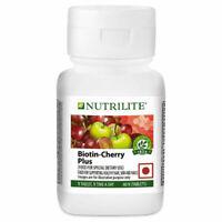 NUTRILITE® Biotin - Cherry Plus 60 N TABLETS FOR  hair, skin and nails