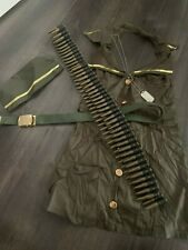 Ladies Army girl costume from Smiffys size small