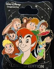 WDI DISNEY CHARACTER CLUSTER PETER PAN TINKER BELL THE LOST BOYS CAST LE 250 PIN