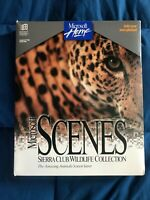 Big Box PC Vintage Microsoft Scenes Sierra Club Wildlife Collection Complete