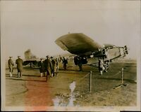GA60 Original Underwood Photo HISTORIC TRAGIC AIRCRAFT Ford Plane Newark NJ