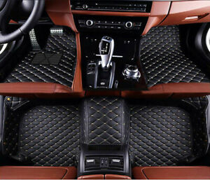 For Scion tC Coupe Front Rear Liner Waterproof Luxurious Custom Car Floor Mats