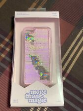 New Apple iPod Touch 5th/6th Generation Flip Sequin Case  Pink/Gold