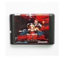 Vampire Killer 16 bit  MD Game Card For Sega Mega Drive For Genesis