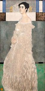 Gustav Klimt, Margaret Stonborough 1905, Fade Resistant HD Art Print or Canvas