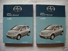 2004 Scion xA Factory Repair Manual Vol. 1&2 Toyota TRD