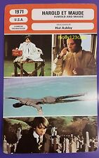 US Romantic Dark Comedy Harold and Maude Hal Ashby French Film Trade Card