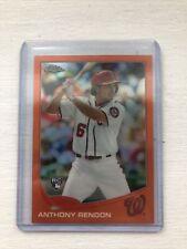 Anthony Rendon RC 2013 Topps Chrome Orange Refractor Rookie