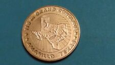 New Listing�115Th Grand Conclave Amarillo,Texas Knights Templar Medal Ships Free😃
