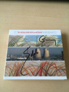 CHINA CRISIS-WORKING WITH FIRE-G/FOLD DIGI SLEEVE-AUTOGRAPHED-CD-Our ref 1349