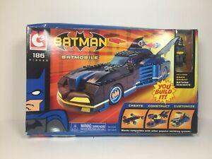 C3 Construction Batman Batmobile Includes Dark Knight Minimate Art Asylum 2004