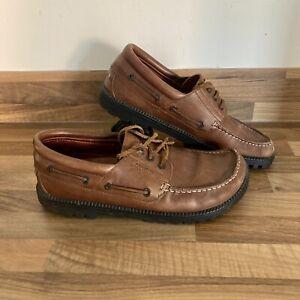 Birkenstock Boat Shoes Brown UK Size 6