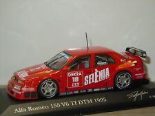 Alfa Romeo 155 V6 TI DTM 1995 S.Modena - Minichamps 1:43 in Box *41187