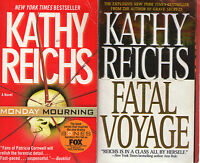 Complete Set Series - Lot of 18 Temperance Brennan Bones Books by Kathy Reichs