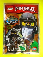 Lego Ninjago Cole mit Maske Schwert 2 Sai und Frosch Neu Ovp