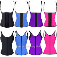 Sport Latex Rubber Steel Bone Waist Trainer Cincher Corset Body Shaper Shapewear