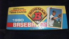 1990 BOWMAN MLB FACTORY SEALED COMPLETE SET(528 CARDS)